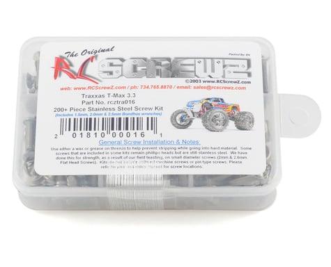 RC Screwz Traxxas T-Maxx 3.3 Stainless Steel Screw Kit