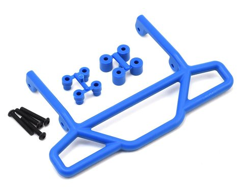 RPM Traxxas Rustler Rear Bumper (Blue)