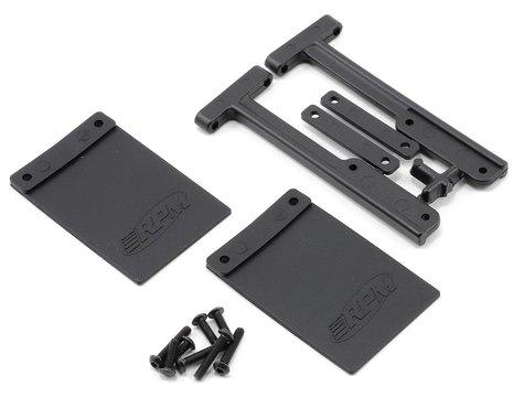 RPM Mud Flaps Traxxas Slash (RPM Bumpers only)