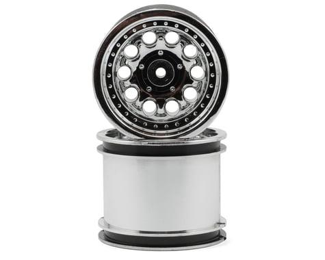 """RPM """"Revolver 10 Hole"""" Associated Rear Wheels (2) (Chrome) (Pins)"""