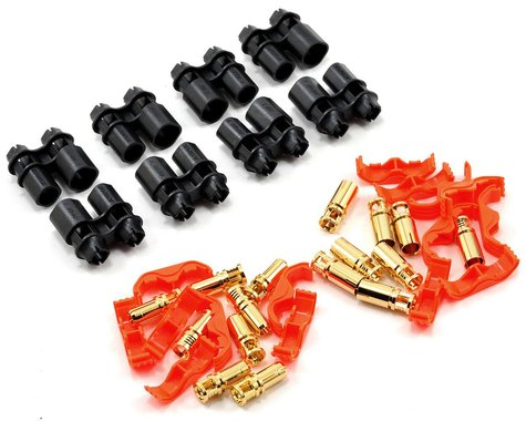 RCPROPLUS Pro-D5 Supra X Battery Connector (8 Pair) (10~12AWG)