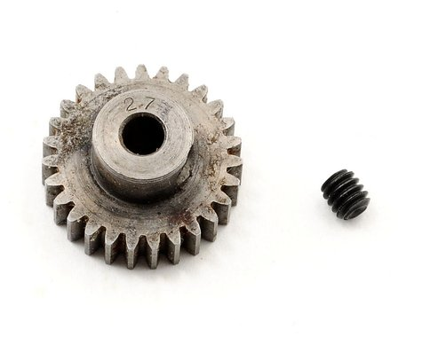 "Robinson Racing Super Hard ""Absolute"" 48P Steel Pinion Gear (3.17mm Bore) (27T)"