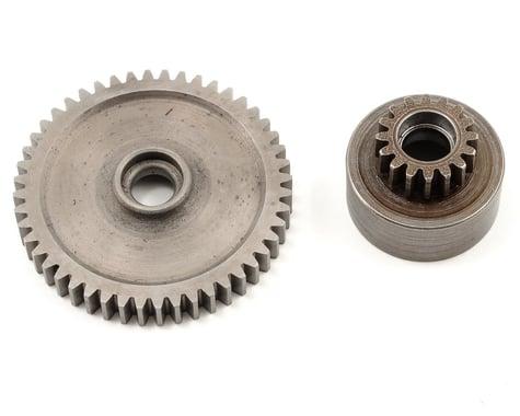 Robinson Racing Mod 1 Hard Steel Spur Gear/Clutch Bell Combo (46T/16T)