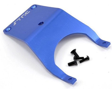 ST Racing Concepts Aluminum Front Skid Plate (Blue)
