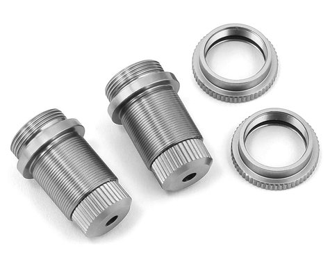 ST Racing Concepts Traxxas 4Tec 2.0 Aluminum Threaded Shock Bodies (2) (Silver)
