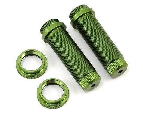ST Racing Concepts Aluminum Threaded Rear Shock Body Set (Green) (2) (Slash)