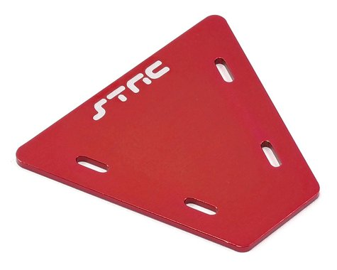 ST Racing Concepts Aluminum Electronics Mounting Plate (Red)