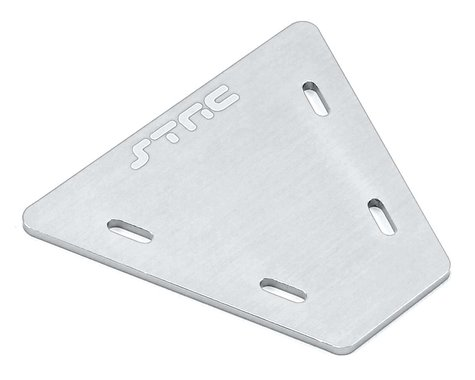 ST Racing Concepts Aluminum Electronics Mounting Plate (Silver)