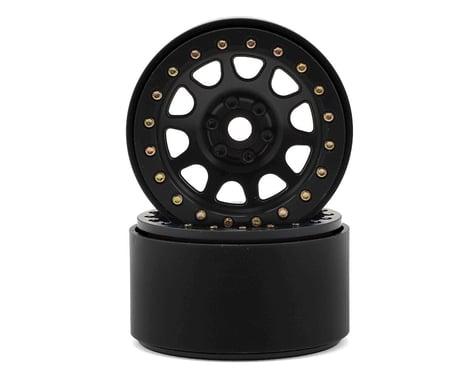 SSD RC 2.2 D Hole Beadlock Wheels (Black) (2)