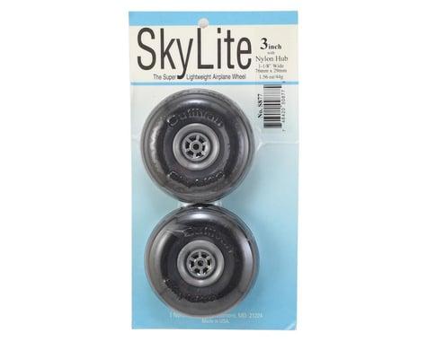 """Sullivan 3"""" Skylite Super Lightweight Airplane Wheels w/Treads (2)"""