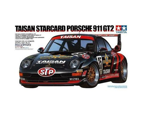 Tamiya 1/24 Taisan StarCard Porsche 911 GT2 Model Kit