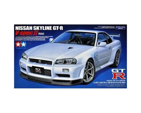 Tamiya 1/24 Scale GT-R R34 Nissan Sykline