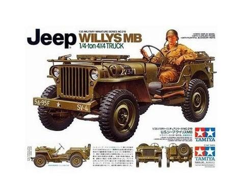 Tamiya 1/35 Jeep Willys MB 1/4 Ton Truck