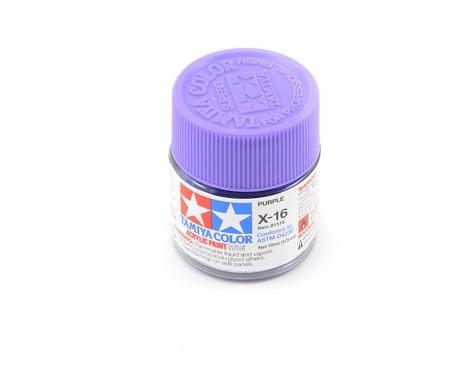 Tamiya X-16 Purple Acrylic Paint (10ml)
