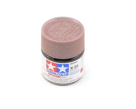 Tamiya X-33 Metallic Bronze Acrylic Paint (10ml)
