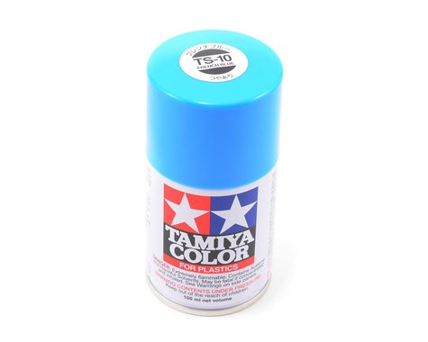 Tamiya TS-10 French Blue Lacquer Spray Paint (100ml)