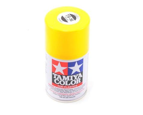 Tamiya TS-16 Yellow Lacquer Spray Paint (100ml)