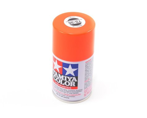 Tamiya TS-36 Flourescent Red Lacquer Spray Paint (100ml)