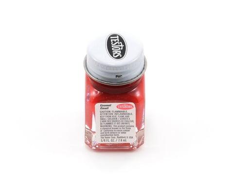 Testors Dark Red Enamel Paint (1/4oz)
