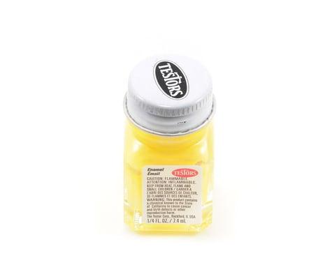 Testors Light Yellow Enamel Paint 1/4oz