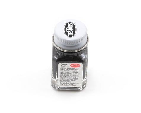 Testors Flat Black Enamel Paint (1/4oz)