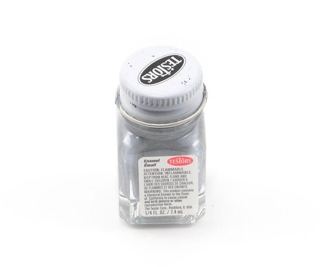 Testors Flat Gray Enamel Paint (1/4oz)
