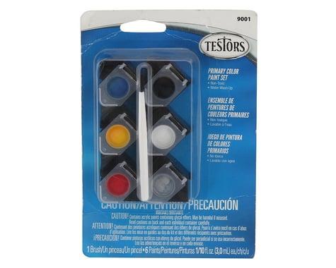 Testors Primary Color Acrylic Paint Pots (6) (1/10oz)