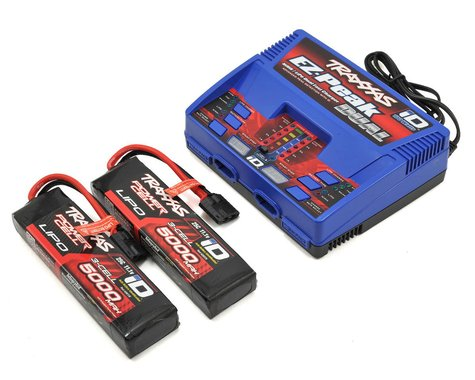"""Traxxas EZ-Peak 3S """"Completer Pack"""" Dual Multi-Chemistry Battery Charger"""