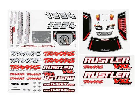 Traxxas Rustler VXL Decal Sheet (2)