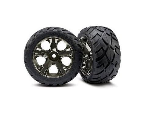 Traxxas Anaconda Nitro Front Tires (2) (Black Chrome) (Standard)