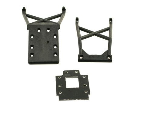 Traxxas Front & Rear Skid Plates With Transmission Spacer