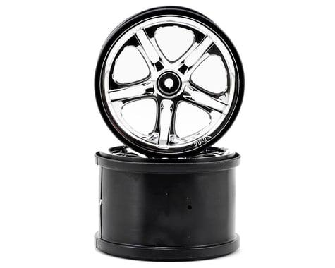 Traxxas 3.8 SS Split Spoke Wheels (Revo,TMX) (2) (Chrome)