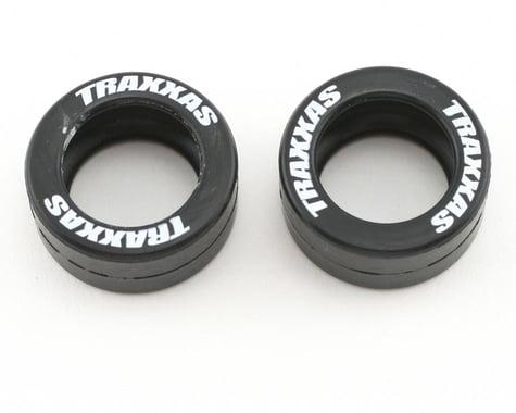 Traxxas Rubber Tires (Wheelie Bar) (2)