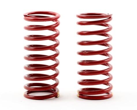 Traxxas Long Shock Springs (Red w/Double Yellow Stripe - GTR 4.9) (2) (Summit)
