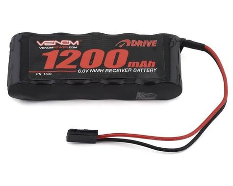 Venom Power 5-Cell 6V 1200mAh NiMH Flat Receiver Battery