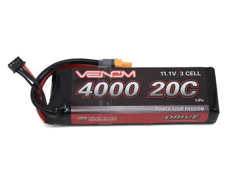 Venom Power 3S LiPo 20C Battery Pack w/UNI 2.0 Connector (11.1V/4000mAh)