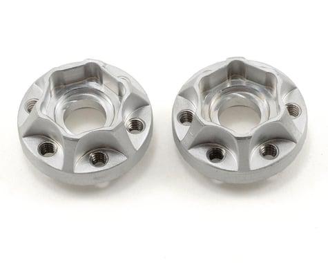 Vanquish Products SLW Hex Hub Set (Silver) (2) (350)