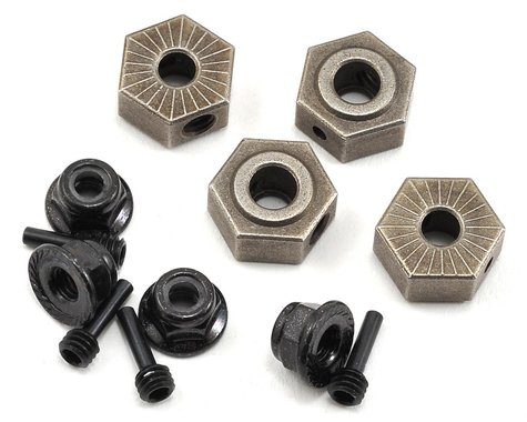 Vaterra Wheel Hex, Pin & Lock Nut Set (4)