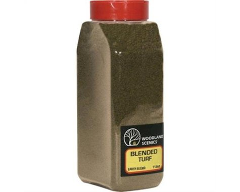 Woodland Scenics Blended Turf Shaker (Earth) (50 cu. in.)