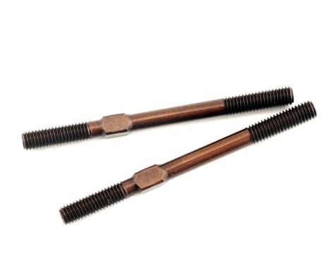 Xray Adjustable Turnbuckle L/R 40mm - Spring Steel (2)