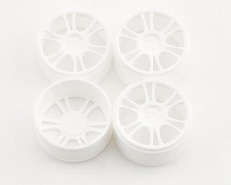 Xray Micro Wheels Front & Rear (4) (White)